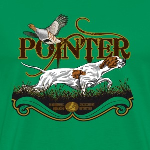 pointer_and_patridge T-Shirts - Men's Premium T-Shirt