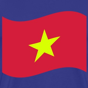 Vietnam Flag Wave T-Shirts - Men's Premium T-Shirt