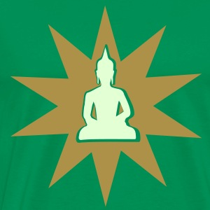 Buddha with shining aura T-Shirts - Men's Premium T-Shirt