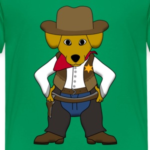 Sheriff dog Shirts - Kinderen Premium T-shirt