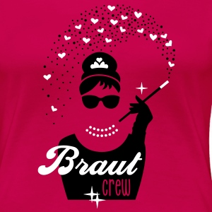 Braut Security - Diamant Girl - Juwelen Prinzessin T-Shirts - Frauen Premium T-Shirt