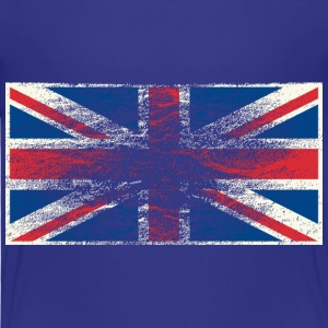 Kindershirt Flagge Union Jack (Grunge Style) - Kinder Premium T-Shirt