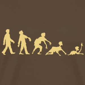 EVOLUTION ZOMBIE Tee shirts - T-shirt Premium Homme