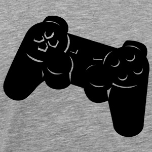 PlayStation-controller  T-shirts - Herre premium T-shirt