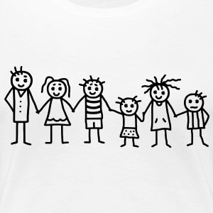 Great family - Patchwork Family T-Shirts - Women's Premium T-Shirt