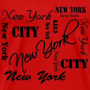 New York T-shirts - Mannen Premium T-shirt