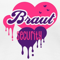 Braut - Security - Crew - Team - JGA T-Shirts