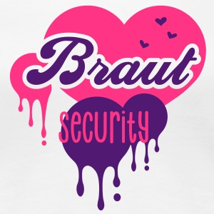 Braut - Security - Crew - Team - JGA T-Shirts - Frauen Premium T-Shirt