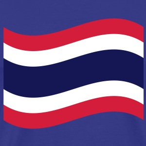 Thai Flag Wave T-Shirts - Men's Premium T-Shirt
