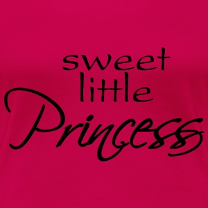 sweet little princess Camisetas - Camiseta premium mujer