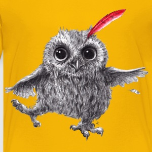 Chief Red - Happy Owl - Kids' Premium T-Shirt