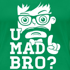 Like a cool you mad story bro moustache Camisetas - Camiseta premium mujer