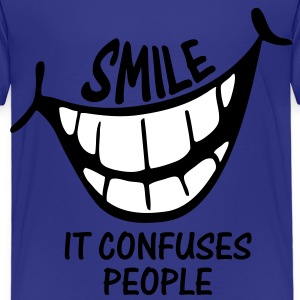 Smile It Confuses People - Kids Shirt - Kids' Premium T-Shirt