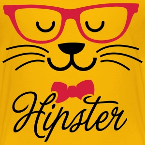 Swag hipsta hipster pussy cat animal style face Shirts - Kids' Premium T-Shirt