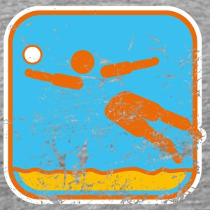 beachvolleyball used look T-Shirts - Männer Premium T-Shirt