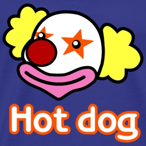 Hot Dog Clown - Mens Shirt - Men's Premium T-Shirt