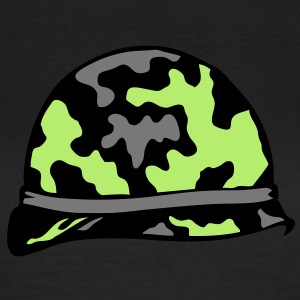 casque militaire military helmet 2 Tee shirts - T-shirt Femme