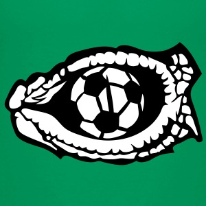 soccer foot oeil reptile eye serpent log Tee shirts - T-shirt Premium Enfant