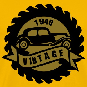 voiture ancienne vintage vieille20 tract Tee shirts - T-shirt Premium Homme