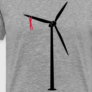 Pull the windmill  T-Shirts - Men's Premium T-Shirt