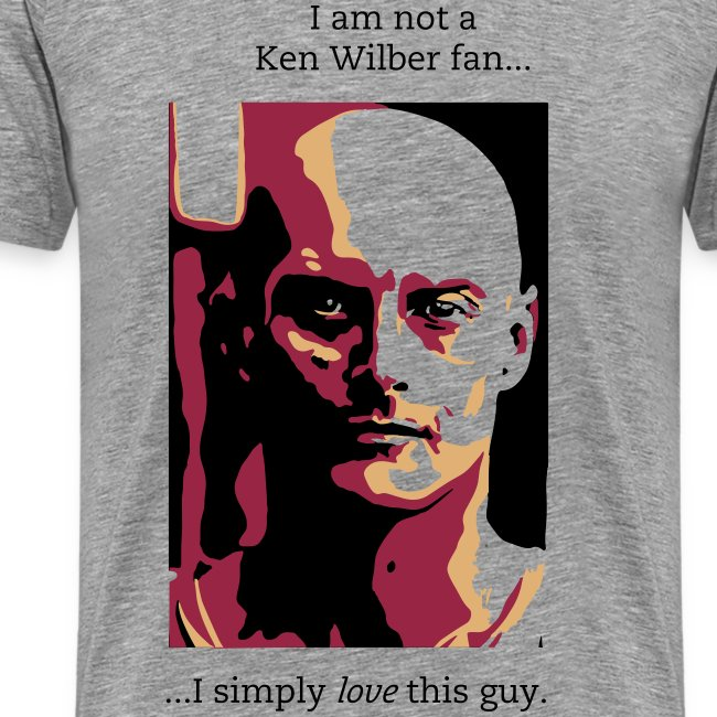 Not a Ken Wilber fan...
