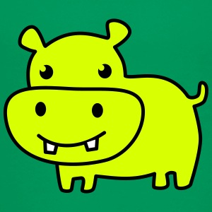 cute hippo color Shirts - Kids' Premium T-Shirt