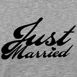 Just married T-Shirts - Männer Premium T-Shirt