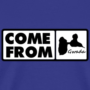 maquette-come-from-gwada.png Tee shirts - T-shirt Premium Homme