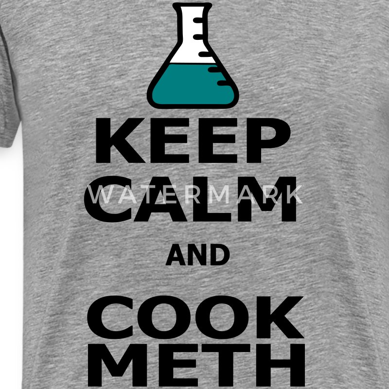 Keep Calm and Cook Meth Koszulki - Koszulka męska Premium