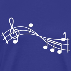 music note T-Shirts - Men's Premium T-Shirt