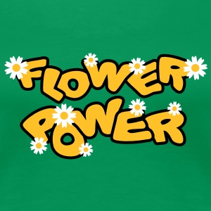 flower_power T-Shirts - Frauen Premium T-Shirt