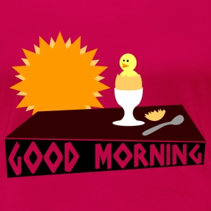 good morning Camisetas - Camiseta premium mujer