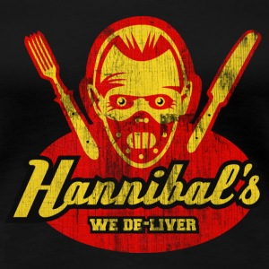 Hannibal's, distressed T-Shirts - Women's Premium T-Shirt