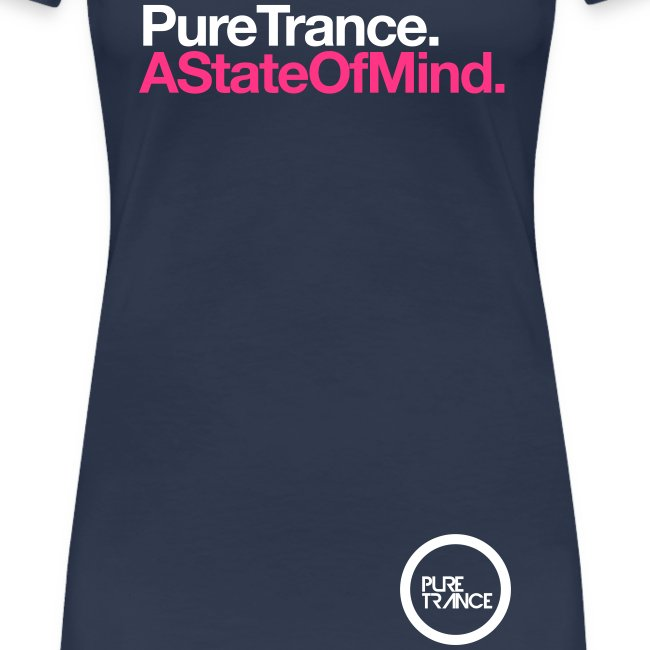 A State Of Mind [Female] White / Neon Pink