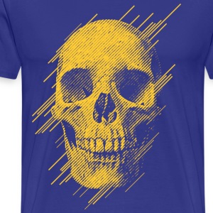 goldskull1 T-Shirts - Men's Premium T-Shirt