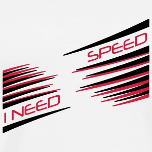 'Speed' Men's T-Shirt by Continental Clothing - Men's Premium T-Shirt