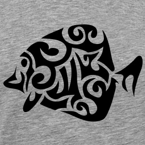 poisson fish exotique tribal 502 Tee shirts - T-shirt Premium Homme