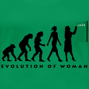 evolution_lehrerin_032013_b_3c T-Shirts - Frauen Premium T-Shirt