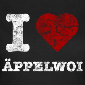 i_love_aeppelwoi_vintage_hell T-Shirts - Frauen T-Shirt