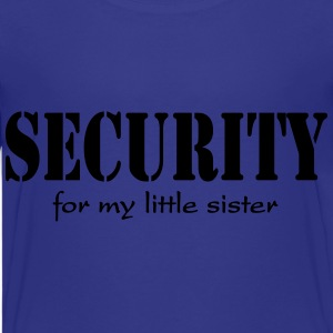Security for my little Sister Shirts - Teenage Premium T-Shirt