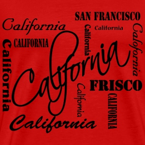 California T-Shirts - Men's Premium T-Shirt