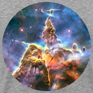 Space - Mystic Mountain (Carina Nebula) - Men's Premium T-Shirt