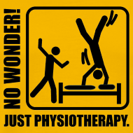 Motiv ~ No Wonder. Just Physiotherapie.