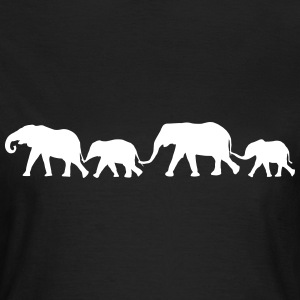 Elephant Family  T-shirts - Vrouwen T-shirt