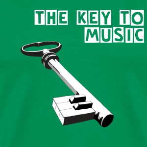 Key to the music - Männer Premium T-Shirt