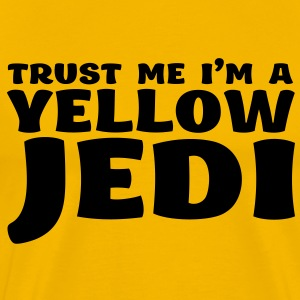 Trust me i'm a yellow jedi - Men's Premium T-Shirt
