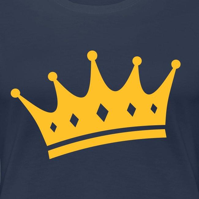 Crown t-shirt for women