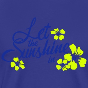 let the sunshine in T-Shirts - Men's Premium T-Shirt