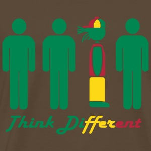 Think different, think Rasta Tee shirts - T-shirt Premium Homme