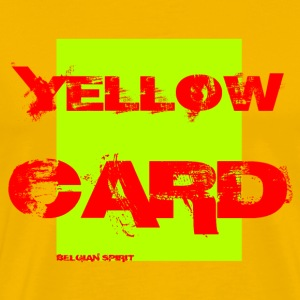 BELGIAN-YELLOW-CARD - T-shirt Premium Homme